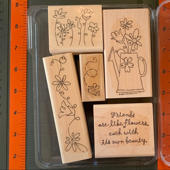 Stampin' Up FRIENDS ARE LIKE FLOWERS